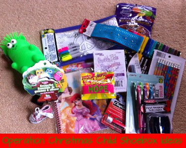 Creative Gifts for an Operation Christmas Child Shoebox