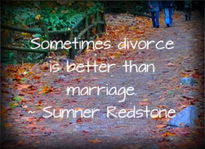 transition to divorce