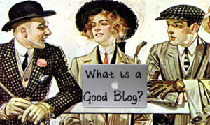 what is a good blog