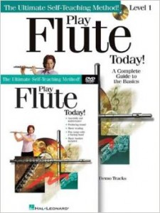 playing new flute music