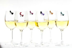 wine charms shoe boutique Thanksgiving Gift Ideas for the Hostess