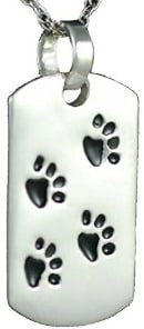 pendant urn for dogs ashes