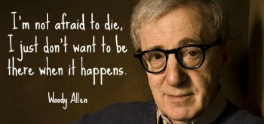 woody allen afraid to die