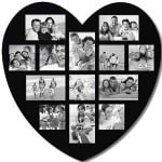 heart photo frame gift for women