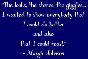 Adult Dyslexia Magic Johnson