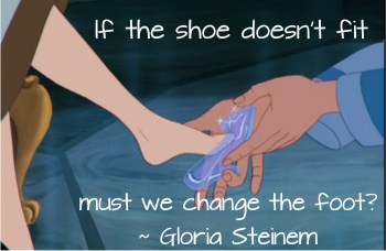 strength to leave Gloria Steinem